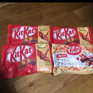 ネスレ(Nestle)のキットカット4袋(菓子/デザート)