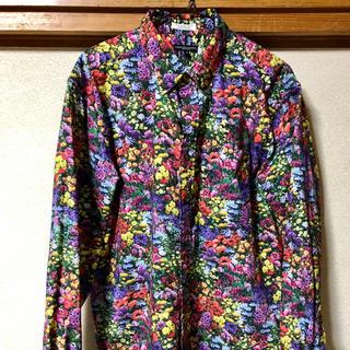 Engineered Garments - 19FW 19th BD Shirt-Print Garden Yellow