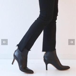 ドゥーズィエムクラス(DEUXIEME CLASSE)の【新品】PELLICO BACK ZIP SHORT BOOTS/36(ブーツ)