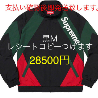Supreme - supreme  paneled track jacket 黒 M