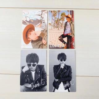 AAA - AAA 與真司郎  カード 4枚