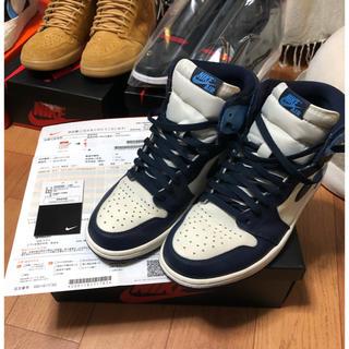 ナイキ(NIKE)のNike Air Jordan1 obsidian blue ジョーダン1(スニーカー)