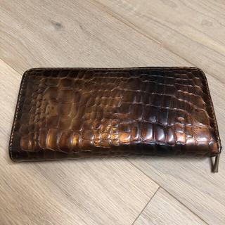 クロコダイル風長財布(長財布)