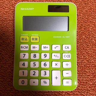 シャープ(SHARP)のシャープ電卓 ELSIMATE EL-760T(その他)