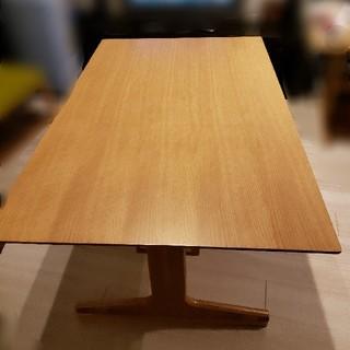 ムジルシリョウヒン(MUJI (無印良品))の★美品★無印良品リビングでもダイニングでもつかえるテーブル(ダイニングテーブル)