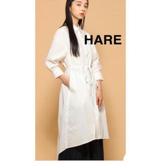 ハレ(HARE)のハレ☆シャツワンピース☆(ひざ丈ワンピース)