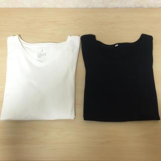 ムジルシリョウヒン(MUJI (無印良品))の無印良品 長袖トップス 2枚(Tシャツ(長袖/七分))