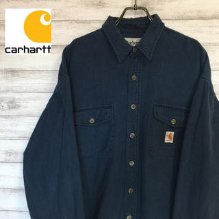 carhartt カーハート ワンポイント シャツ FRシリーズ XL 送料無料