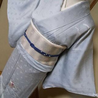 正絹*絞り入り刺繍訪問着