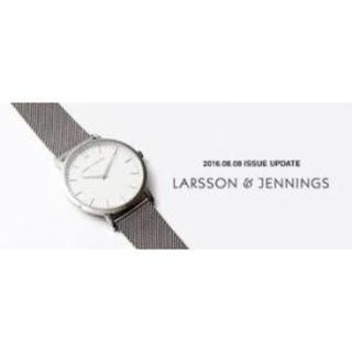 DEUXIEME CLASSE - LARSSON&JENNINGS 腕時計シルバーDeuxieme Classe