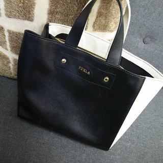 Furla - 正規品☆フルラ ハンドバッグ サリー トートバッグ バイカラー バッグ 財布