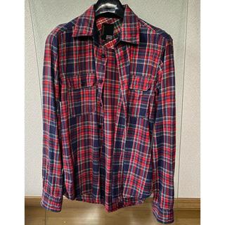 ジャック&ジョーンズ チェックシャツ ネルシャツ XL(シャツ)
