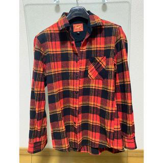チェックシャツ ネルシャツ(シャツ)