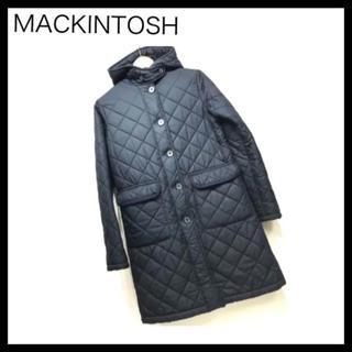 マッキントッシュ(MACKINTOSH)のMACKINTOSH マッキントッシュ キルティングボアロングコート38サイズ(ロングコート)