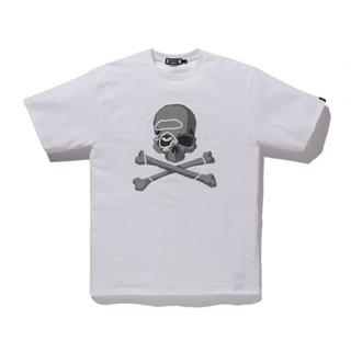 マスターマインドジャパン(mastermind JAPAN)のape×mastermind 白Tシャツ(Tシャツ/カットソー(半袖/袖なし))
