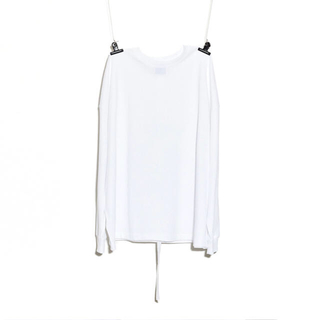 PEACEMINUSONE - PMO LONG SLEEVE T-SHIRT #1 WHITE