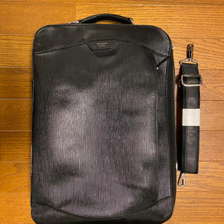 ペッレ モルビダ(PELLE MORBIDA)のペッレ モルビダ キャピターノ 型押しレザー 4WAYバッグ ブラック(ビジネスバッグ)