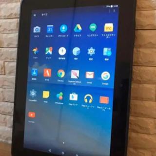 【極美品 在庫限り!】 10.1インチ 日本製 Android タブレット