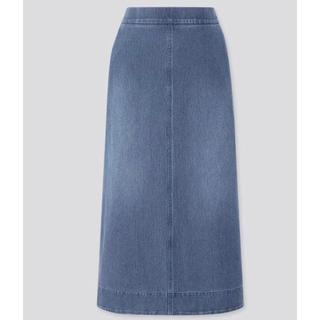 UNIQLO - デニムジャージースカート