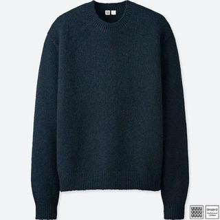 UNIQLO - UNIQLO U メランジクルーネックセーター  XL