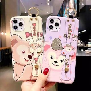 Disney - ディズニー ダッフィー シェリーメイiPhone7/8/X/XS/XR/11