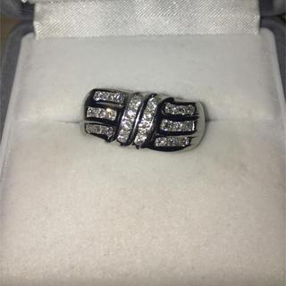 ジュエリーマキ(ジュエリーマキ)のジュエリーマキ ダイヤモンド リング Pt850 0.78ct 8.4g(リング(指輪))