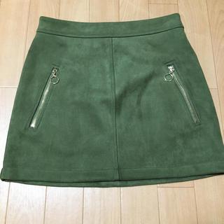 フォーエバートゥエンティーワン(FOREVER 21)のひざ上スカート(ひざ丈スカート)