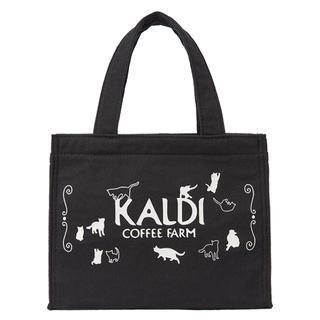 カルディ(KALDI)のカルディ ねこの日バッグ&カレンダー&ステンレスティートレイ(トートバッグ)