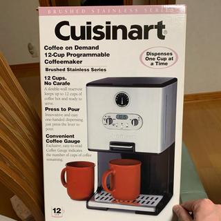 デロンギ(DeLonghi)の未使用 cuisinart コーヒーメーカー dcc-200jbs(コーヒーメーカー)