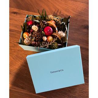 ティファニー(Tiffany & Co.)のティファニー非売品♡ドライフラワーボックス(置物)