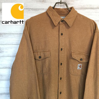 カーハート(carhartt)のcarhartt カーハート ワンポイント シャツ FRシリーズ XL 送料無料(シャツ)