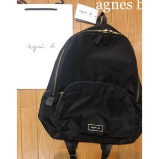 agnes b. - ラスト‼️大人気agnes b. ヴォヤージュバックパックリュックBLACK新品
