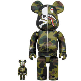 A BATHING APE - MASTER MIND VS BAPE BE@RBRICK ベアブリック エイプ