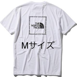THE NORTH FACE - ノースフェイス バックサイド スクエアロゴ Tシャツ