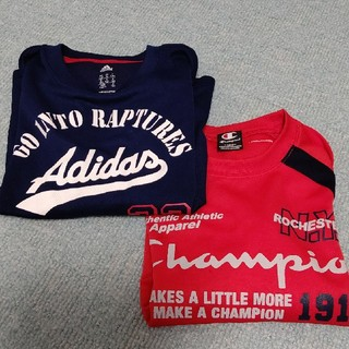 adidas - アディダス チャンピオン 長袖Tシャツ2枚セット 130