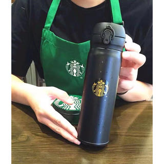 Starbucks Coffee - オマケ付き!ギフト用!即決!海外限定販売スタバサーモスコラボタンブラーブラック