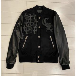クロムハーツ(Chrome Hearts)のchrome hearts クロムハーツ レターマン ジャケット jacket(スタジャン)