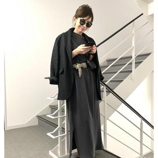 L'Appartement DEUXIEME CLASSE - L'Appartement BILLY サーマルドレス☆チャコールグレー☆