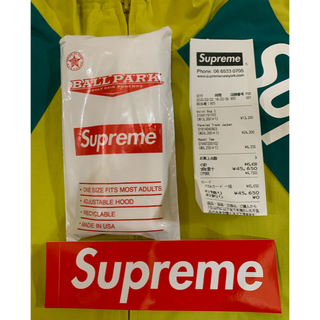 シュプリーム(Supreme)のPaneled Track Jacket イエロー XLサイズ(ブルゾン)