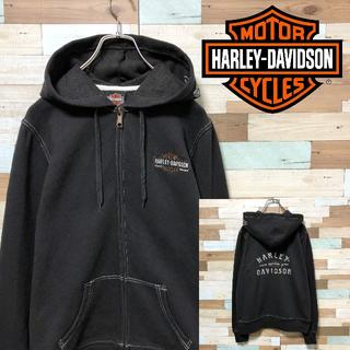 ハーレーダビッドソン(Harley Davidson)の【激安❗️】キラキラ刺繍ロゴ HARLEYDAVIDSONハーレーダビッドソン (パーカー)