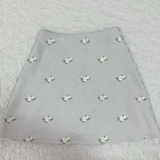 evelyn - evelyn♡花柄刺繍スカート