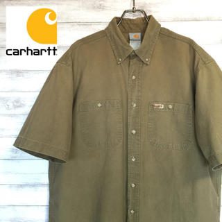 カーハート(carhartt)のcarhartt カーハート 半袖シャツ Lサイズ 送料無料(シャツ)