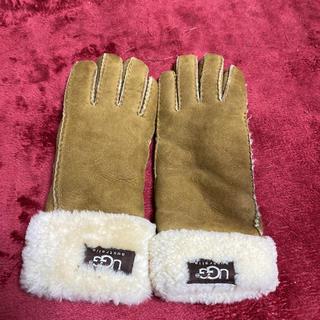 アグ(UGG)のUGGボア手袋(ベージュ)(手袋)
