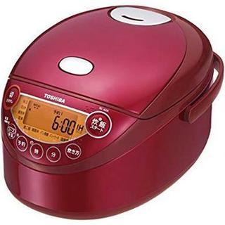 東芝 - 【新品保証付】東芝 3.5合 IHジャー炊飯器 備長炭鍛造かまど釜 RC-6XK