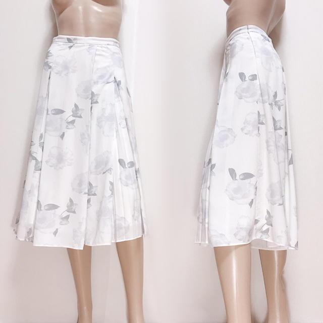 MERCURYDUO(マーキュリーデュオ)のMERCURY DUO 花柄 ガウチョ スカーチョ♡snidel ムルーア レディースのパンツ(カジュアルパンツ)の商品写真