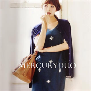 MERCURYDUO - MERCURY DUO ビジューワンピース♡セシル イング スナイデル リエンダ