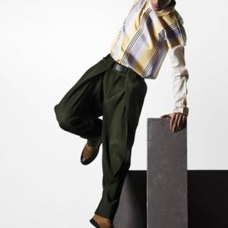 イッセイミヤケ(ISSEY MIYAKE)のhomme plisse ISSEY MIYAKE 袴パンツ 緑(その他)
