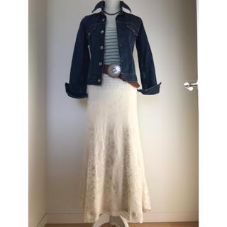 Ralph Lauren - ラルフローレン 総レースマキシ丈スカート  極美品