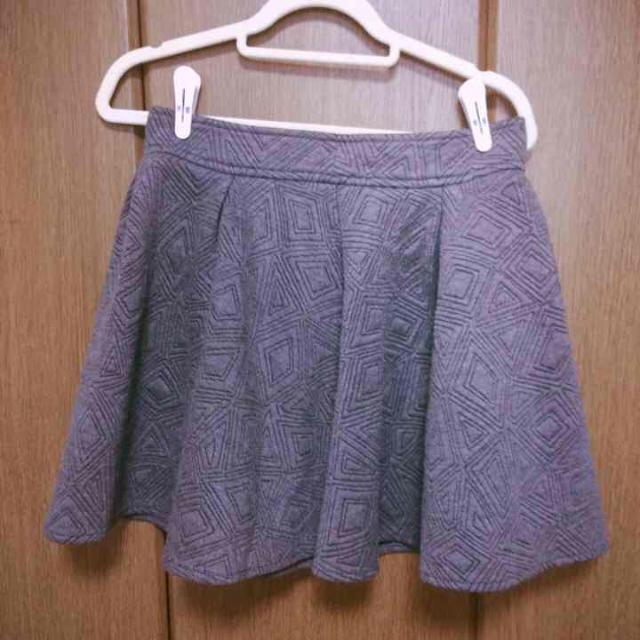 fifth(フィフス)のfifth♡グレーのフレアスカート♡ レディースのスカート(ミニスカート)の商品写真