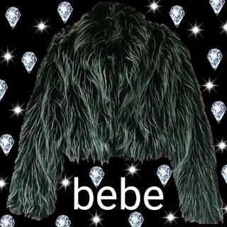 ベベ(BeBe)のbebe ショート丈 ファージャケット キムカーダシアン 毛皮 ビービー ベベ(毛皮/ファーコート)